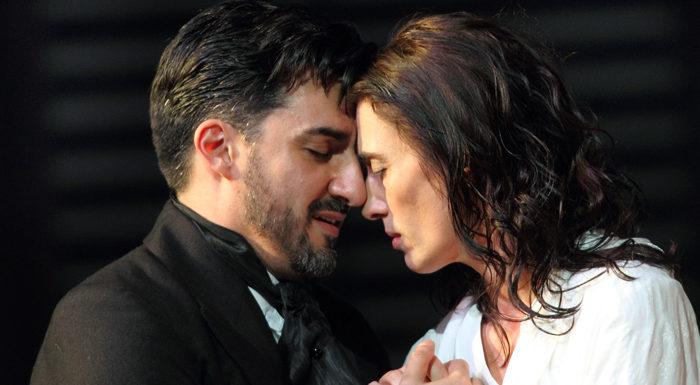 Royal Opera House, «Травиатa» по Верди. Эрмонела Джахо и Игорь Головатенко
