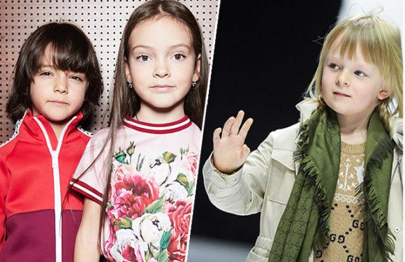 Сын Яны Рудковской и Евгения Плющенко и дети Филиппа Киркорова приняли участие в модном показе