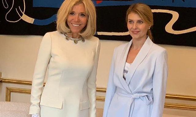 Владимир и Елена Зеленские прилетели с официальным визитом в Париж