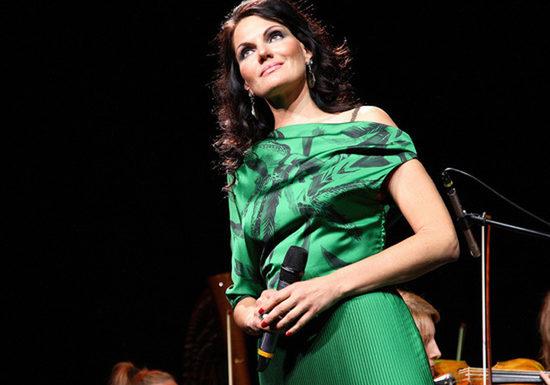 Нина Шацкая дала сольный концерт в Доме музыки