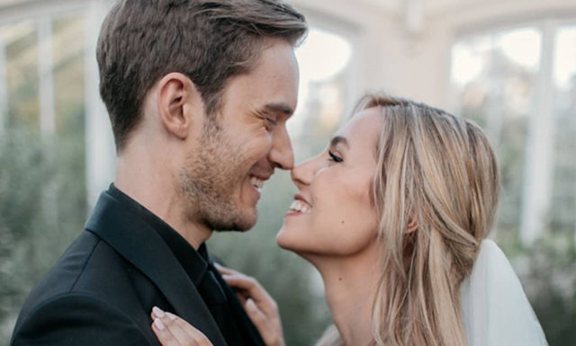 Самый популярный и богатый YouTube-блогер PewDiePie женился: свадебные фото
