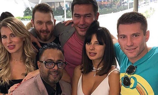 Бывшая девушка Тимати Мила Волчек вышла замуж за Алексея Гарбера