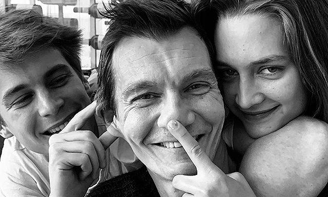 Оксана Фандера поздравила мужа Филиппа Янковского с днем рождения и поделилась редкими семейными снимками