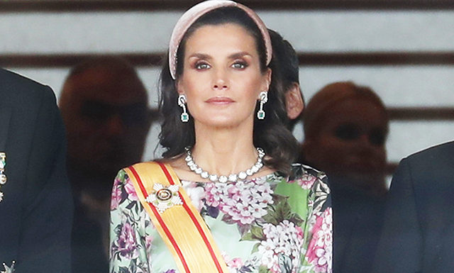 Королева Летиция, принц Чарльз, Николя Саркози и другие на коронации императора Японии