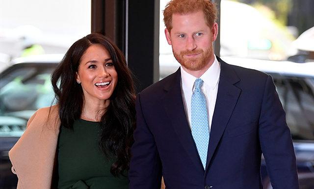 Меган Маркл и принц Гарри посетили церемонию WellChild Awards в Лондоне