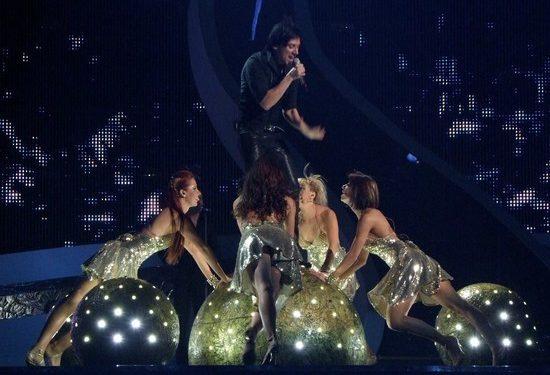 Участник «Евровидения» провалился на «Голосе»