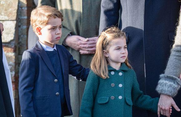 Идеальные манеры и смелость: как вели себя принц Джордж и принцесса Шарлотта на своей первой рождественской службе