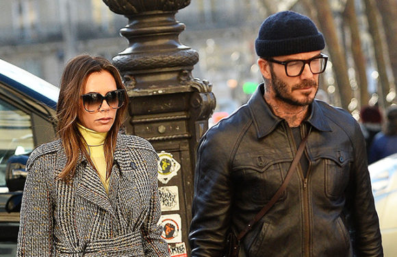 Виктория и Дэвид Бекхэм на прогулке в Париже: новые фото пары