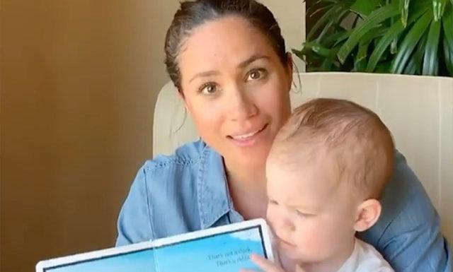 Меган Маркл поделилась милым видео в честь дня рождения сына Арчи
