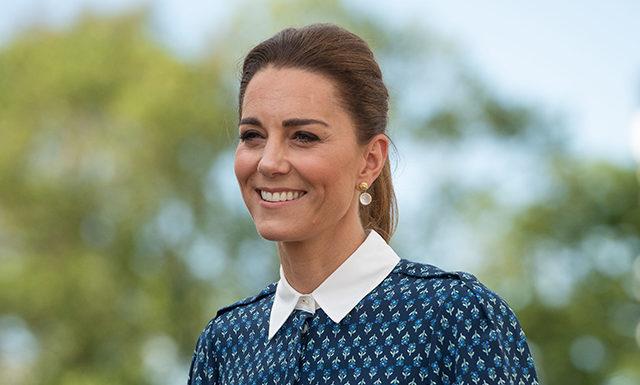 Кейт Миддлтон и принц Уильям посетили больницу королевы Елизаветы в Кингс-Линне