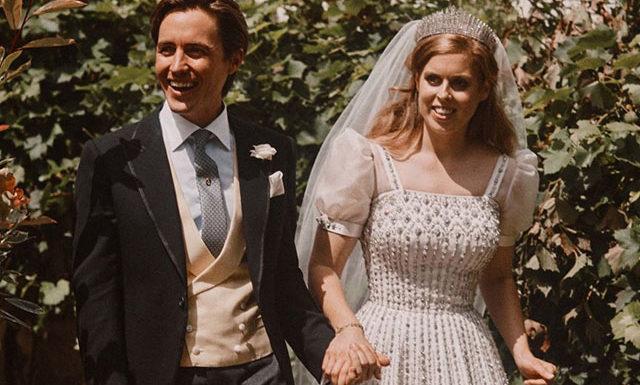 Обнародована новая свадебная фотография принцессы Беатрис и Эдоардо Мапелли-Моцци
