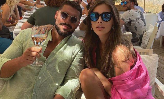 Кети Топурия и Лев Деньгов отдыхают в Сен-Тропе: фото