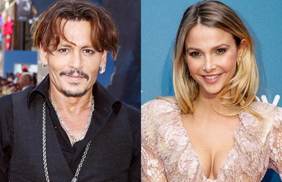 СМИ: у Джонни Деппа начался роман с актрисой и моделью Софи Германн