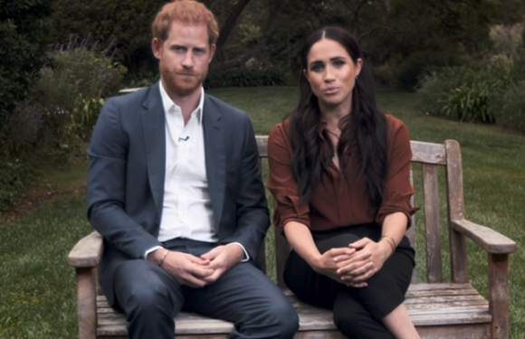 Меган Маркл и принц Гарри впервые выступили на телевидении после сложения с себя королевских полномочий
