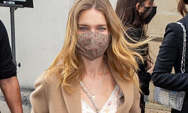 Неделя моды в Париже: Наталья Водянова на показе Paco Rabanne