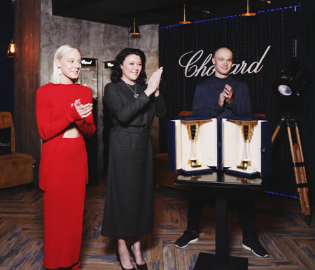 От «Чик» до «Быка»: Алена Михайлова и Юрий Борисов стали победителями премии Chopard Talent Award