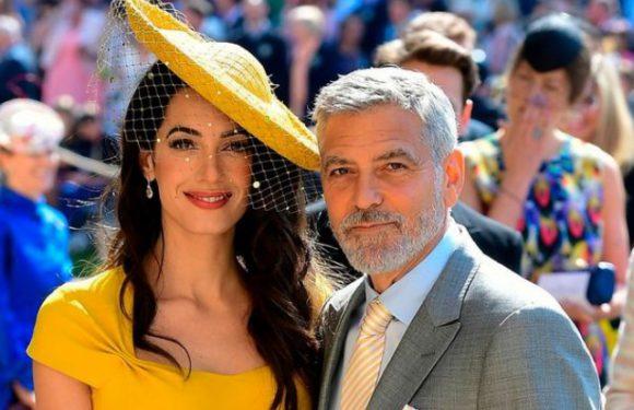 Джордж и Амаль Клуни не знали принца Гарри и Меган до приглашения на свадьбу