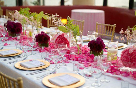 Посуда для свадебного торжества