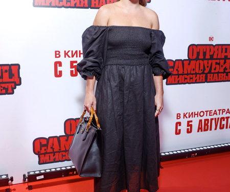 """Настасья Самбурская, Элджей, Варвара Шмыкова и другие на премьере """"Отряда самоубийц"""""""